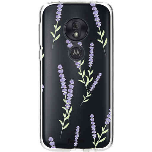 Casetastic Softcover Motorola Moto G7 Play - Wonders of Lavender