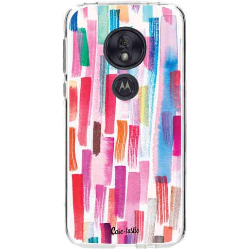 Casetastic Softcover Motorola Moto G7 Play - Colorful Strokes