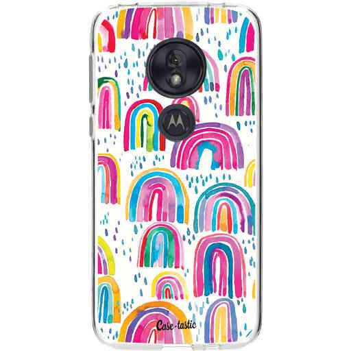 Casetastic Softcover Motorola Moto G7 Play - Sweet Candy Rainbows
