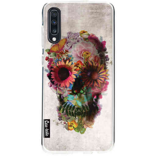 Casetastic Softcover Samsung Galaxy A70 - Skull 2