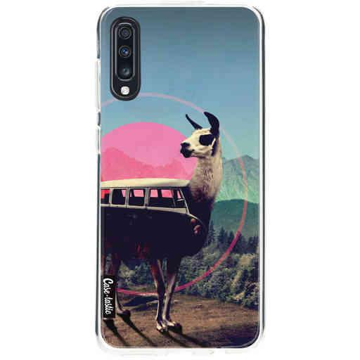 Casetastic Softcover Samsung Galaxy A70 - Llama