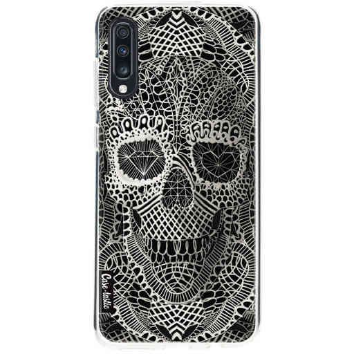 Casetastic Softcover Samsung Galaxy A70 - Lace Skull
