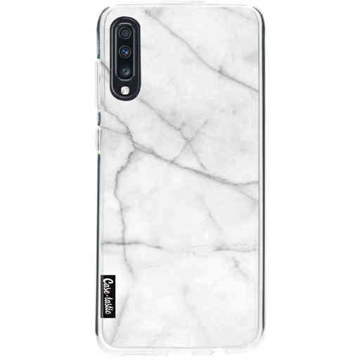 Casetastic Softcover Samsung Galaxy A70 - White Marble