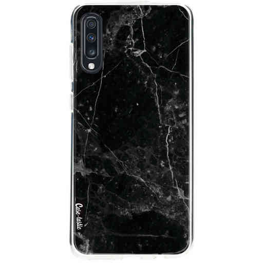 Casetastic Softcover Samsung Galaxy A70 - Black Marble