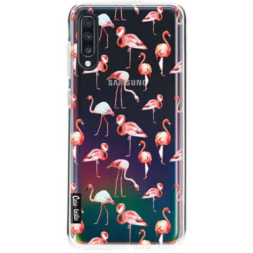 Casetastic Softcover Samsung Galaxy A70 - Flamingo Party
