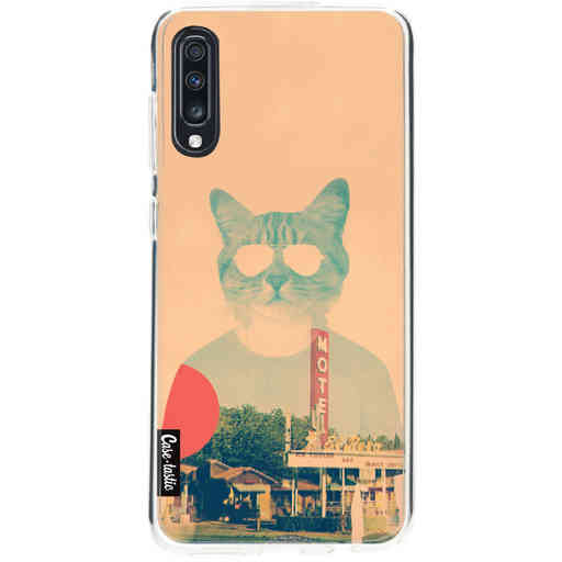 Casetastic Softcover Samsung Galaxy A70 - Cool Cat