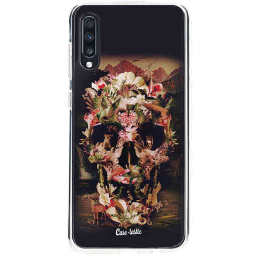 Casetastic Softcover Samsung Galaxy A70 - Jungle Skull