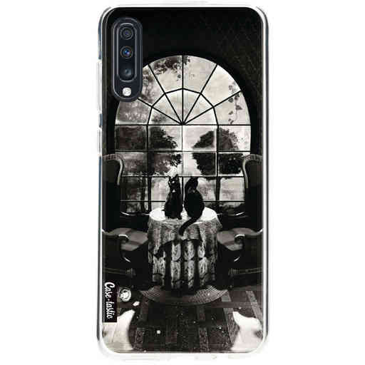 Casetastic Softcover Samsung Galaxy A70 - Room Skull BW