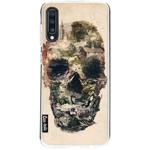 Casetastic Softcover Samsung Galaxy A70 - Skull Town