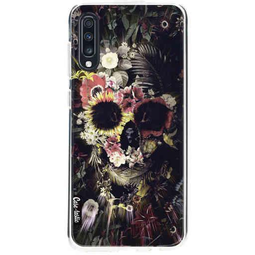 Casetastic Softcover Samsung Galaxy A70 - Garden Skull