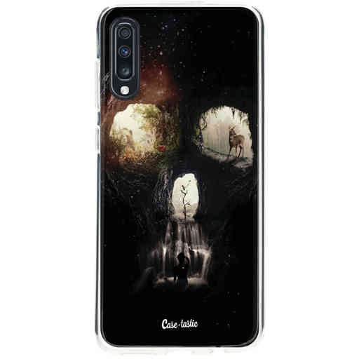 Casetastic Softcover Samsung Galaxy A70 - Cave Skull