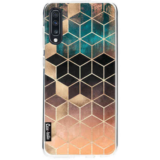 Casetastic Softcover Samsung Galaxy A70 - Ombre Dream Cubes