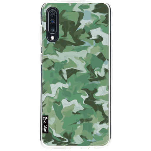 Casetastic Softcover Samsung Galaxy A70 - Army Camouflage