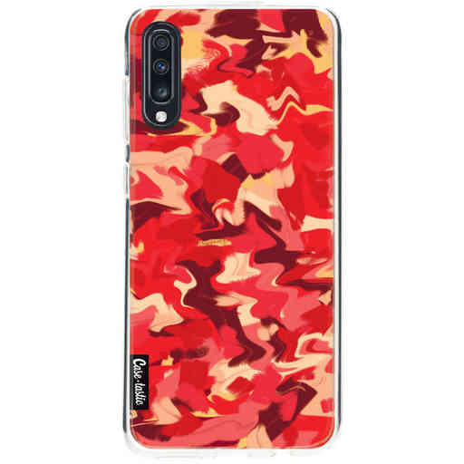Casetastic Softcover Samsung Galaxy A70 - Fire Camouflage