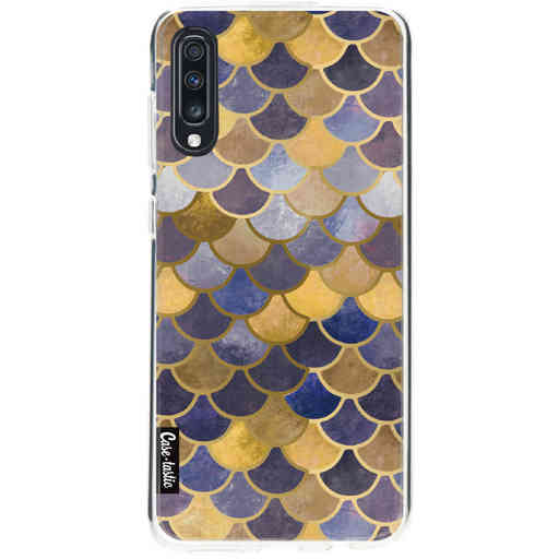 Casetastic Softcover Samsung Galaxy A70 - Sapphire Scales