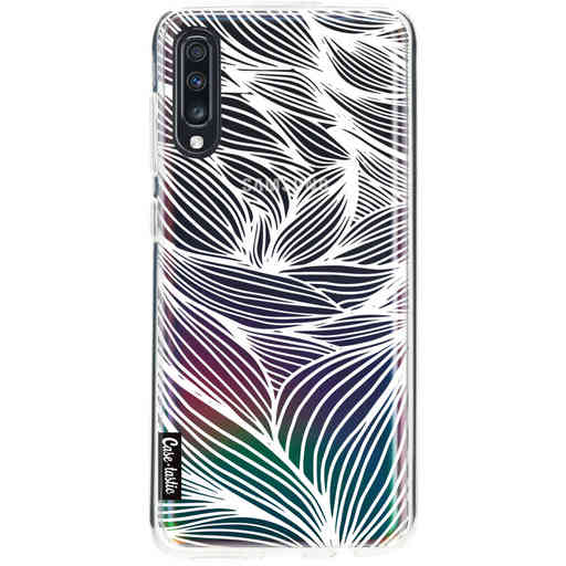 Casetastic Softcover Samsung Galaxy A70 - Wavy Outlines
