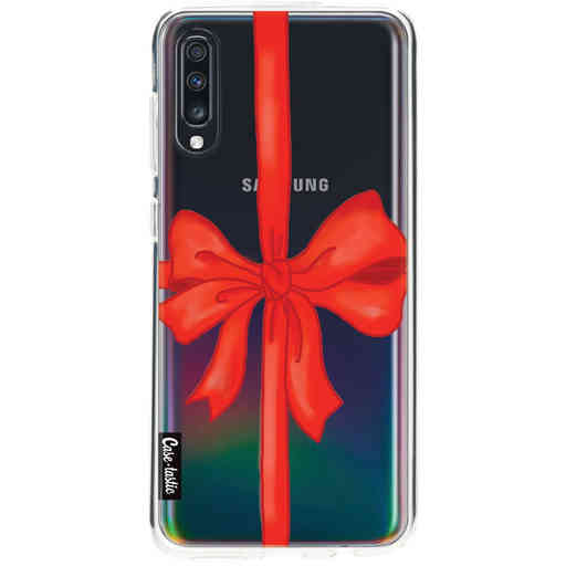 Casetastic Softcover Samsung Galaxy A70 - Christmas Ribbon