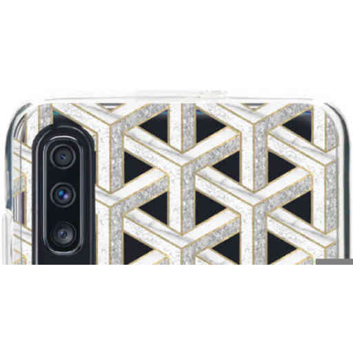 Casetastic Softcover Samsung Galaxy A70 - Abstract Marble Transparent