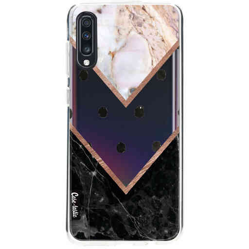 Casetastic Softcover Samsung Galaxy A70 - Mix of Marbles