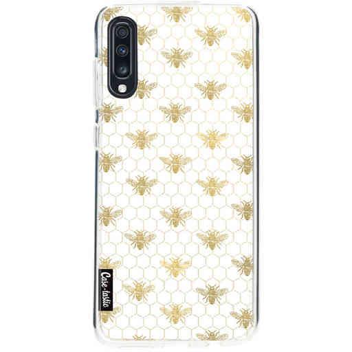 Casetastic Softcover Samsung Galaxy A70 - Golden Honey Bee