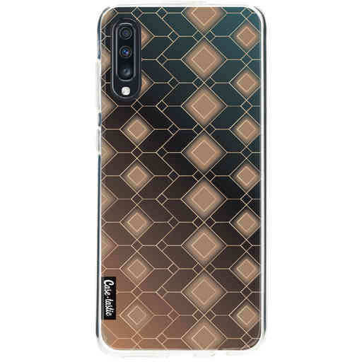 Casetastic Softcover Samsung Galaxy A70 - Abstract Diamonds