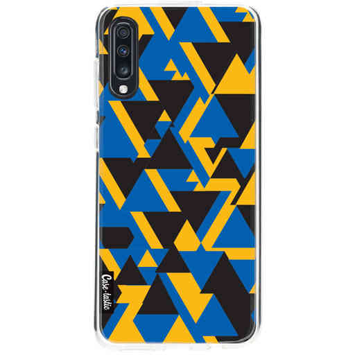 Casetastic Softcover Samsung Galaxy A70 - Mixed Triangles