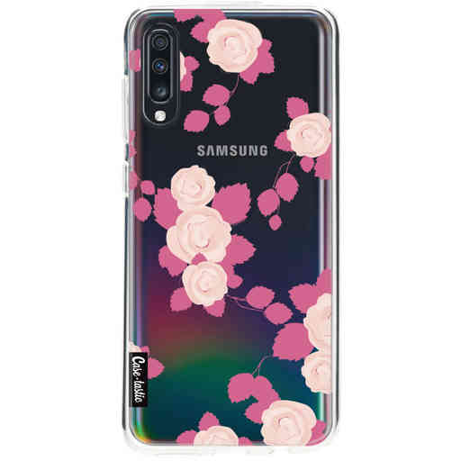 Casetastic Softcover Samsung Galaxy A70 - Pink Roses