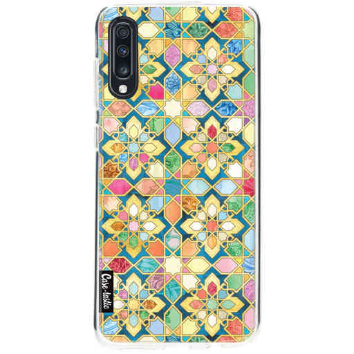 Casetastic Softcover Samsung Galaxy A70 - Gilded Moroccan Mosaic Tiles