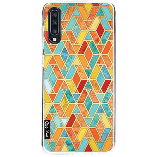 Casetastic Softcover Samsung Galaxy A70 - Geometric Tile Pattern