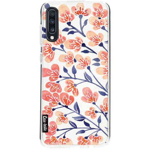 Casetastic Softcover Samsung Galaxy A70 - Cherry Blossoms Peach