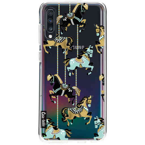 Casetastic Softcover Samsung Galaxy A70 - Carousel Horses