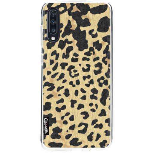 Casetastic Softcover Samsung Galaxy A70 - Leopard Print Sand