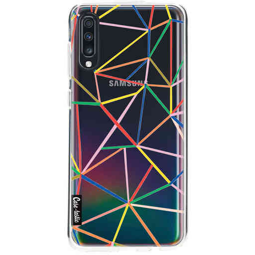 Casetastic Softcover Samsung Galaxy A70 - Colorful Abstraction Outline