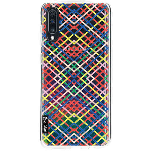 Casetastic Softcover Samsung Galaxy A70 - Weave Pattern