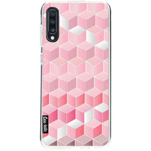 Casetastic Softcover Samsung Galaxy A70 - Cubes Vibe