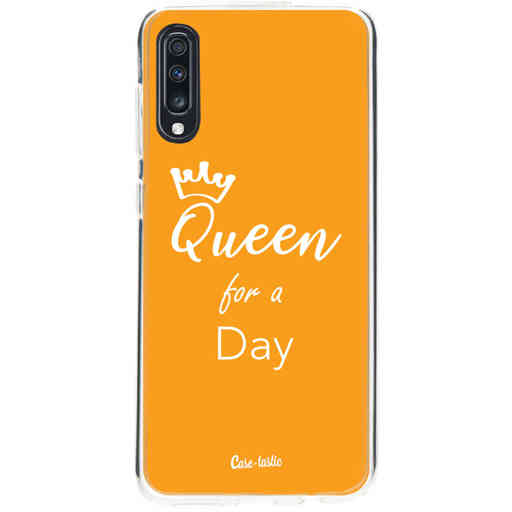 Casetastic Softcover Samsung Galaxy A70 - Queen for a Day