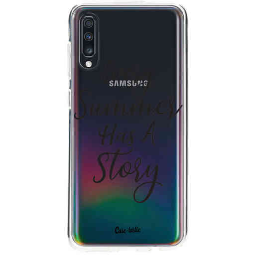 Casetastic Softcover Samsung Galaxy A70 - Summer Story