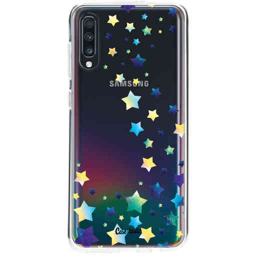 Casetastic Softcover Samsung Galaxy A70 - Funky Stars