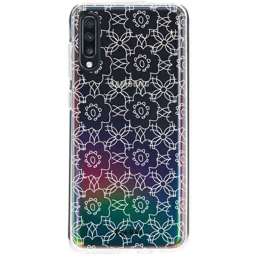 Casetastic Softcover Samsung Galaxy A70 - Flowerbomb