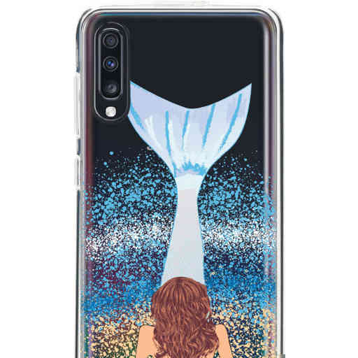 Casetastic Softcover Samsung Galaxy A70 - Mermaid Brunette