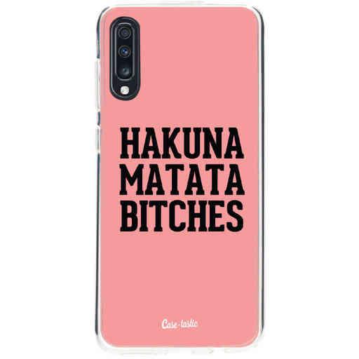 Casetastic Softcover Samsung Galaxy A70 - Hakuna Matata Bitches