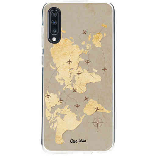 Casetastic Softcover Samsung Galaxy A70 - World Traveler