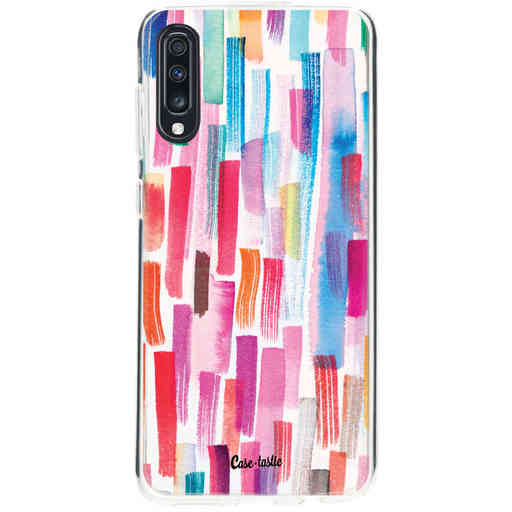 Casetastic Softcover Samsung Galaxy A70 - Colorful Strokes