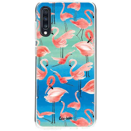 Casetastic Softcover Samsung Galaxy A70 - Flamingo Vibe
