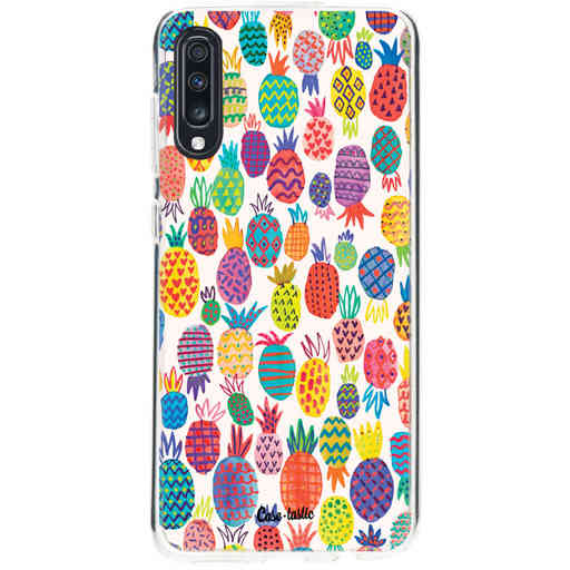 Casetastic Softcover Samsung Galaxy A70 - Happy Pineapples