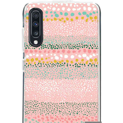 Casetastic Softcover Samsung Galaxy A70 - Lovely Dots