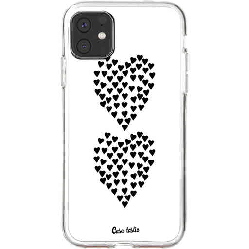 Casetastic Softcover Apple iPhone 11 - Hearts Heart 2 White