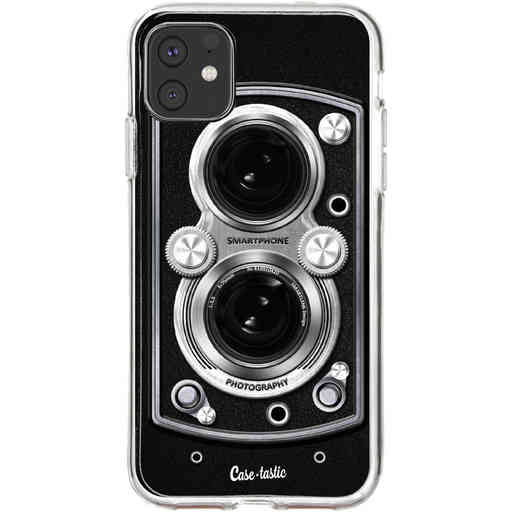 Casetastic Softcover Apple iPhone 11 - Vintage Camera Black