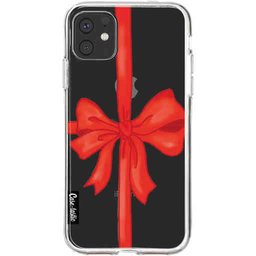 Casetastic Softcover Apple iPhone 11 - Christmas Ribbon