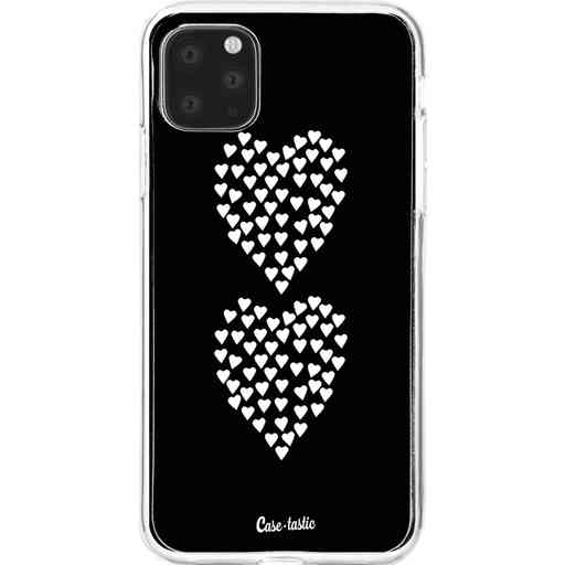 Casetastic Softcover Apple iPhone 11 Pro Max - Hearts Heart 2 Black